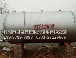 农村灌溉用20吨无塔供水设备