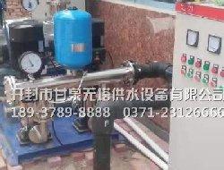 郑州安置房购无负压供水设备一套